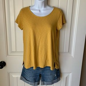Mustard yellow T-shirt